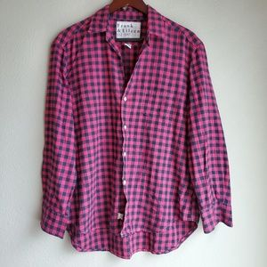 Frank & Eileen Plaid Buttondown size L